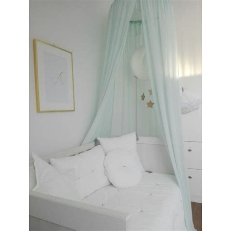 crib sets for canopy mint cotton
