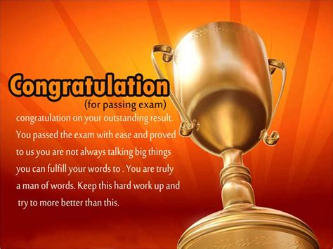 congratulations  passing exam messages  wishes