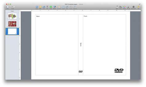 dvd cover template  pages mactemplatescom