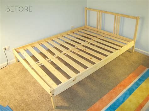 Fjellse Bed Frame Hack by Ikea Hack How To Upholster A Fjellse Bed Frame Emmerson