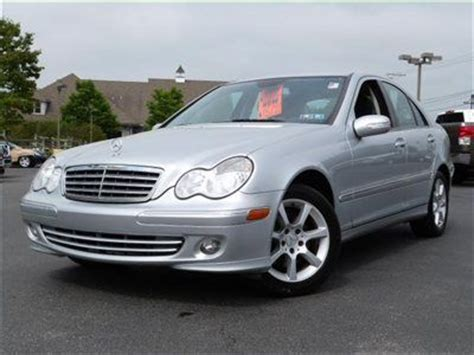 This vehicle is at the top of the mercedes line and is the third generation of the series was created in 2007; Purchase used 2007 Mercedes-Benz C-Class C280 4MATIC All Wheel Drive in Exton, Pennsylvania ...