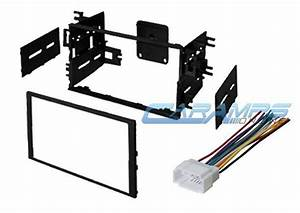 Double 2 Din Car Stereo Radio Dash Installation Mounting