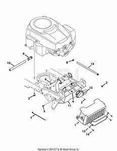 Troy Bilt 13wv78ks011 Bronco  2015  Parts Diagram For Engine Accessories Kohler