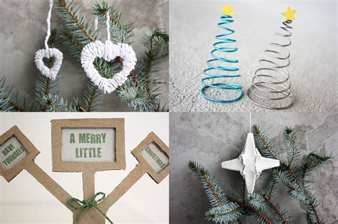 make your own christmas decorations morning creativity
