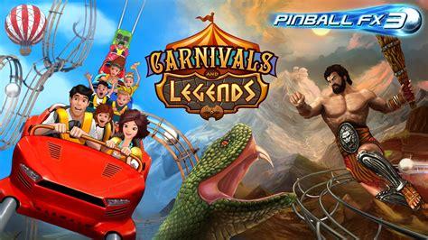 legends carnivals pinball fx3 hercules pack forums platforms releases today mp3 zen studios december ozbargain