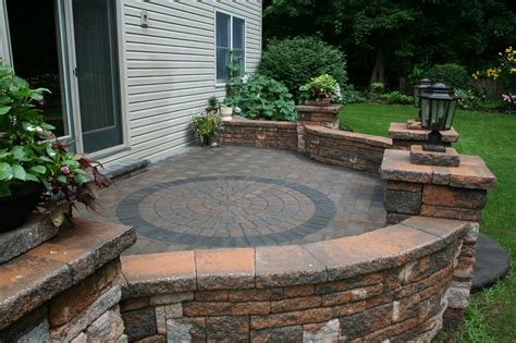 Paver Patio Ideas On A Budget by Budget Conscious Patio I Pic 4 From Willow Gates