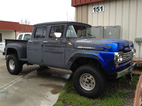1960 Ford Crew Cab 4x4   Autos Post