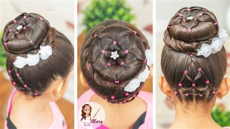 Peinados Con Ligas Para Niñas