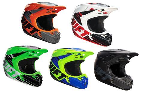 size 16 motocross shift racing assault race dirt bike helmet all colors