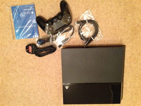 ps4 pics at home uk ps4 unboxing images ps4 home Gallery