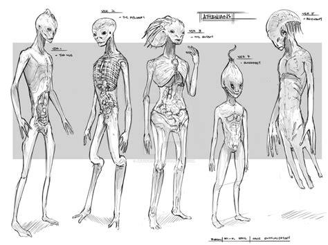 Alien Races By Artofrussell On Deviantart