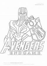 Thanos Coloring Fortnite Draw Colorear Avengers Dibujos Step Endgame Marvel Printable Colorir Guide Stranger Drawitcute Capitulo sketch template