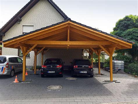 carport mit geräteraum preis carport aus holz mit flachdach oder satteldach modul garagen