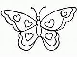 Butterfly Coloring Pages Butterflies Coloringpages1001 Printable Kleurplaten sketch template