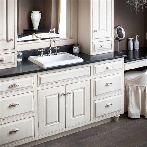 Bathroom Vanity Countertop Cabinet by Furniture Extraordinary White Bathroom Vanity Black