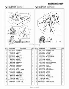 Red Max Ebz5150-10  08 Parts Diagram For 004