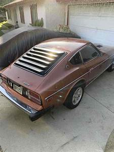 1978 Datsun 280z Sportscar Orange Rwd Manual