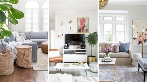 small living room makeover ideas youtube