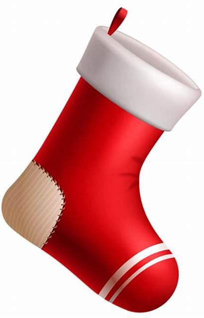 Stocking Clipart Transparent Noel Clip Bottes Stockings