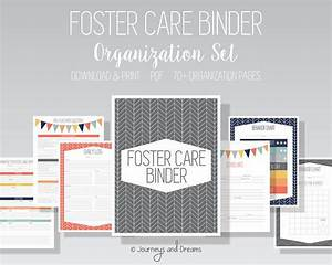 Foster Care Organization Binder . 80+ Pages! . 8.5x11 ...