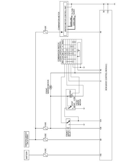 Windshield Wiper Motor Wiring Diagram Impremedia