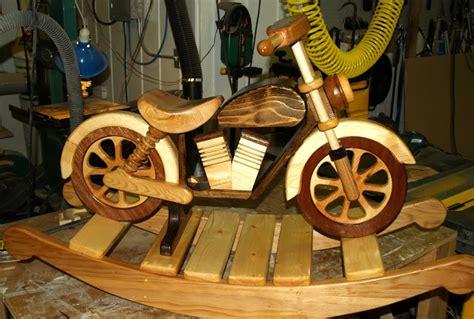 wood project ideas motorcycle rocker  granddaughters  birthday