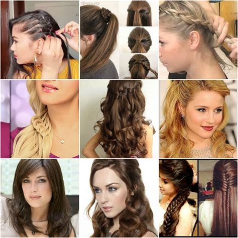 100 easy hairstyles for medium hair for party in 2019