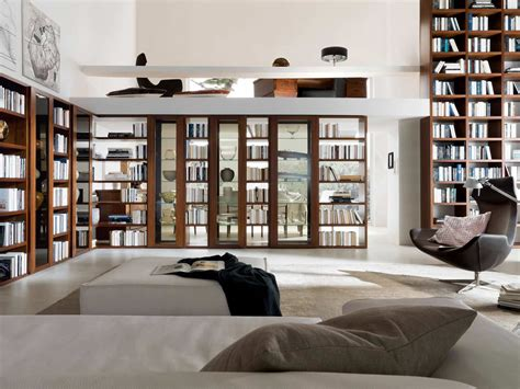 smart home interior design bibliotecas y algo más