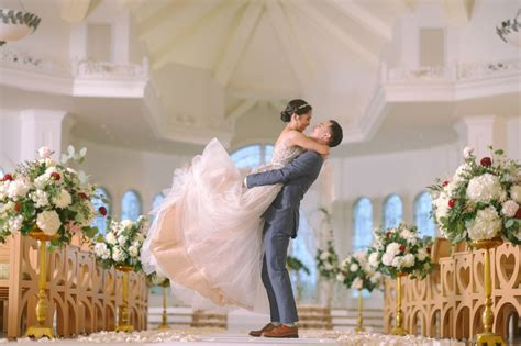 Magical + Blush-hued Disney Fairy Tale Wedding