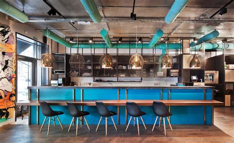 kitchen  bar moscow russia wallpaper