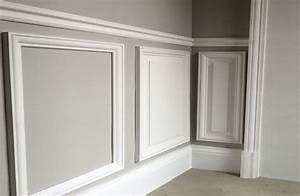 Kit Deco Porte Interieur : kit soubassement en bois pour l 39 habillage et la d coration ~ Melissatoandfro.com Idées de Décoration