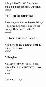 Pin By Aubrey Trimble On Riddles Jokes Riddles Funny