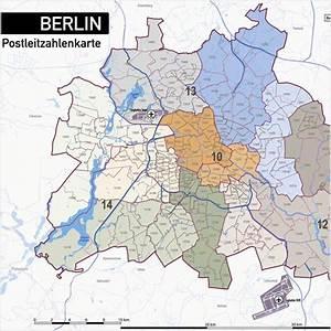 Berlin Plz Karte : berlin stadtplan postleitzahlen plz 5 topographie stadtbezirke stadtteile ~ One.caynefoto.club Haus und Dekorationen