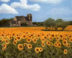 """""""French Countryside - Sunflowers"""" by Terry Hinkle Redbubble"""