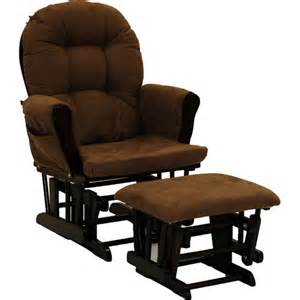 storkcraft hoop glider and ottoman espresso and chocolate