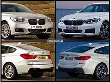 BildVergleich BMW 6er GT 2017 gegen BMW 5er GT 2009