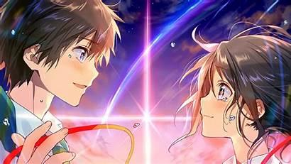 Anime Kimi Wa Na Mitsuha Taki Background