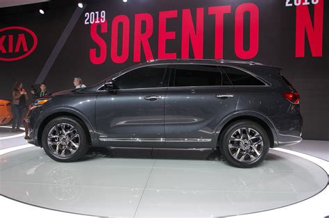 2019 Kia Sorento Gets An Updated Powertrain Lineup