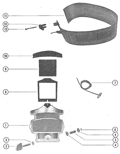 Mercury Marine Cylinder Cowling