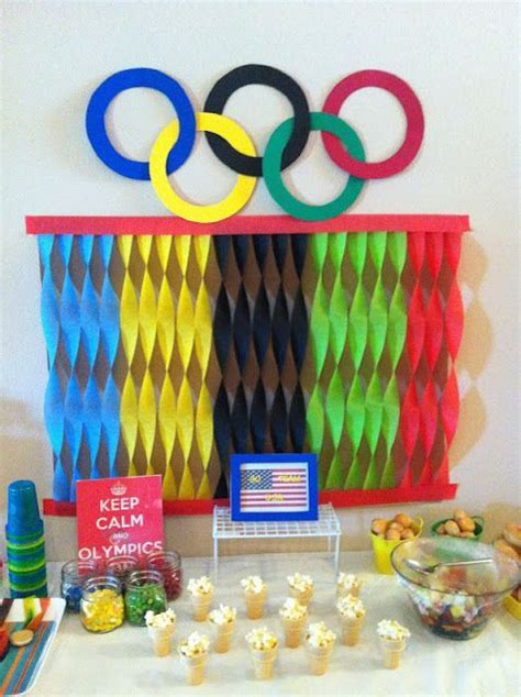 olympics decorations images  pinterest