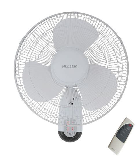 wall mount oscillating fan with remote heller 40cm 3 blade oscillating wall mounted fan withtimer