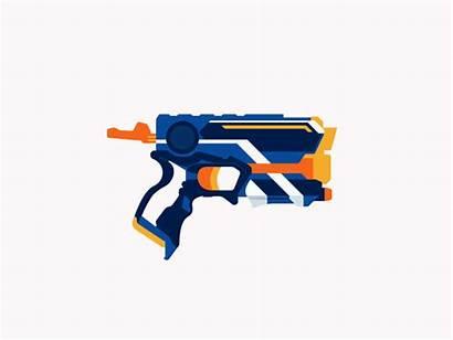 Nerf Animation Guns Fortnite Hasbro Dribbble Nerdgasm