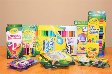 Back To School With Crayola Products! Score Printable