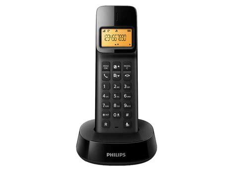telephone fixe conforama t 233 l 233 phone fixe sans fil philips d1401 noir vente de t 233 l 233 phone r 233 sidentiel conforama