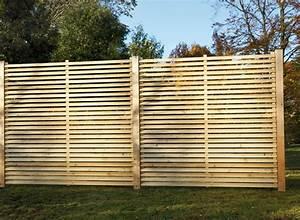 Brise Vue Panneau Rigide : panneau brise vue bois cloture fer lbzh ~ Melissatoandfro.com Idées de Décoration