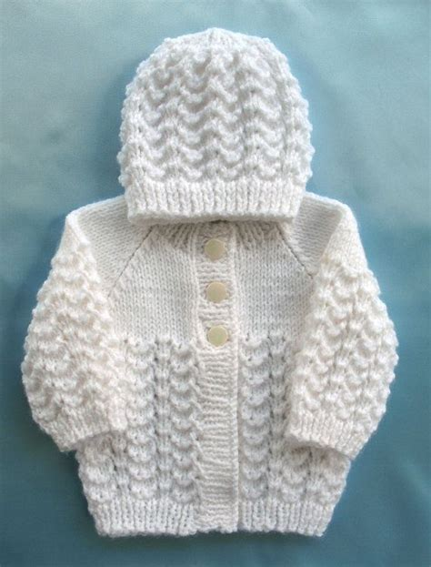 baby sweaters to knit baby sweater knit white set preemie boy premie