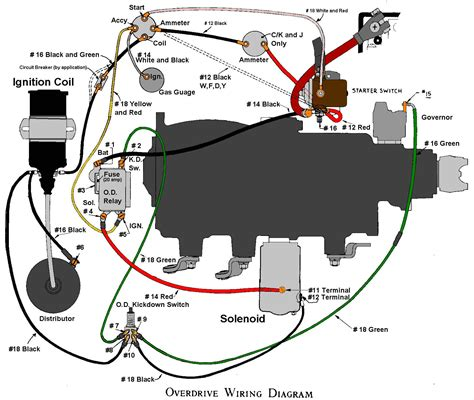 53 Ford F100 Wiring by 53 Ford Overdrive Wiring Diagram Wiring Diagrams