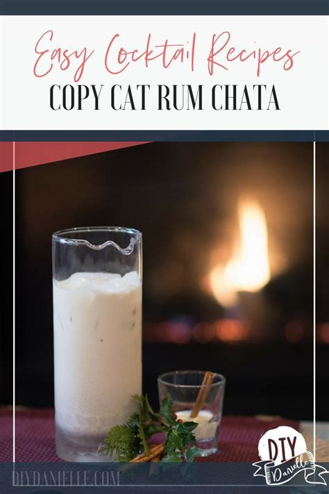Strain the rice milk through a fine sieve or cheese cloth into a jug or bowl. Copycat Rum Chata   Recipe (With images)   Cocktail recipes easy, Rumchata, Homemade alcohol