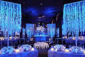 luxurious blue wedding decorationWedWebTalks WedWebTalks