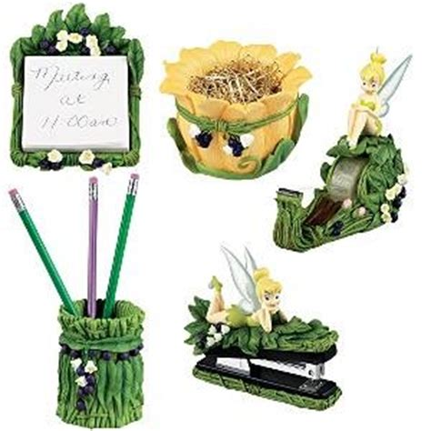 disney office desk accessories amazon com disney 5 pc tink fairies desk set tinker